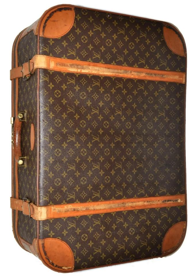 Louis Vuitton Guaranteed Suitcase Luggage Baggage Monogram Genuine Unisex  Men Women Mens Womens Vintage Distressed Well ... c22d269879afe