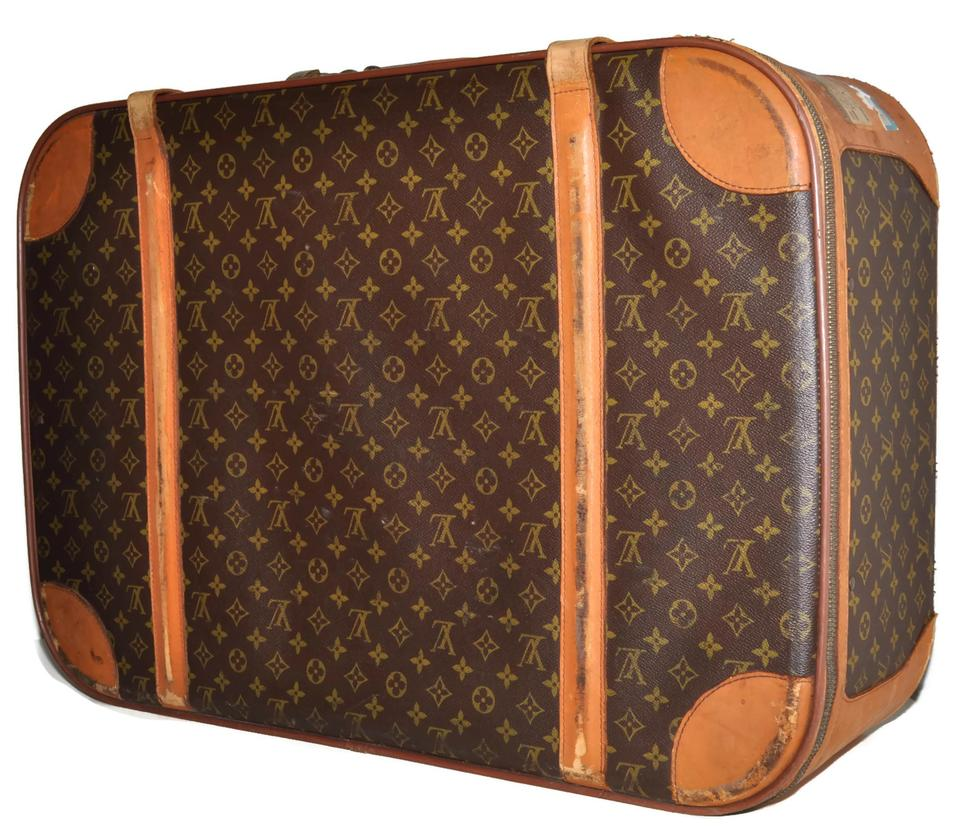 Louis Vuitton Guaranteed Suitcase Luggage Baggage Monogram Genuine Unisex  Men Women Mens Womens Vintage Distressed Well. 12345678 b5821ee527567