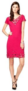 Catherine Malandrino Brand New Embellished Cashmere Beaded Dress