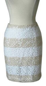 White House | Black Market Lace Pencil Skirt