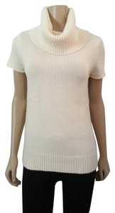 BCBG Turtle Neck Wool Angora Knit Sweater