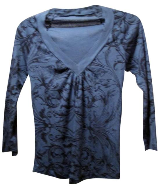 XCVI Top Blue/Black