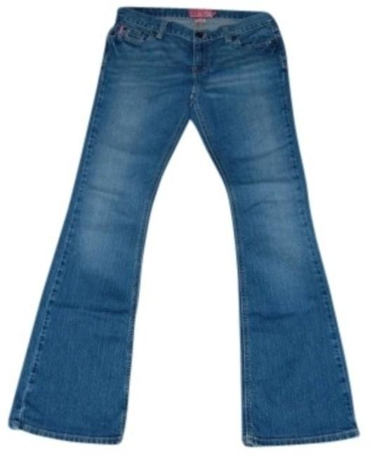 Preload https://item2.tradesy.com/images/hollister-darkmedium-blue-wash-long-length-stretch-boot-cut-jeans-size-32-8-m-128951-0-0.jpg?width=400&height=650