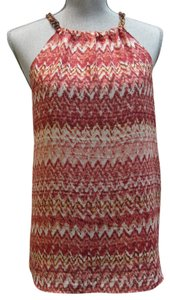Vince Camuto Pink, Peach Halter Top