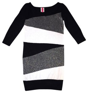 HeartSoul short dress Colorblock Sweater Short on Tradesy