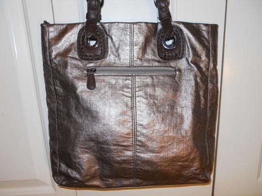 Hilary Radley Tote in antique gold & brown Image 4