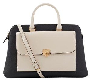 Bally Beige Classic Sell Tote in black