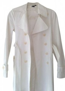 Theory Trench Coat White Jacket