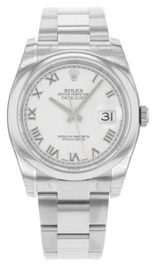 Rolex Rolex Datejust 116200 wro Stainless Steel Automatic Watch (11694)