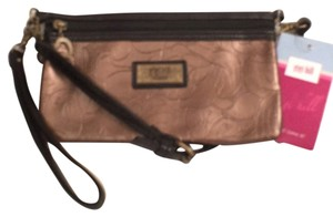 Gigi Hill Leather New Nwt Clutch Wristlet Cross Body Bag