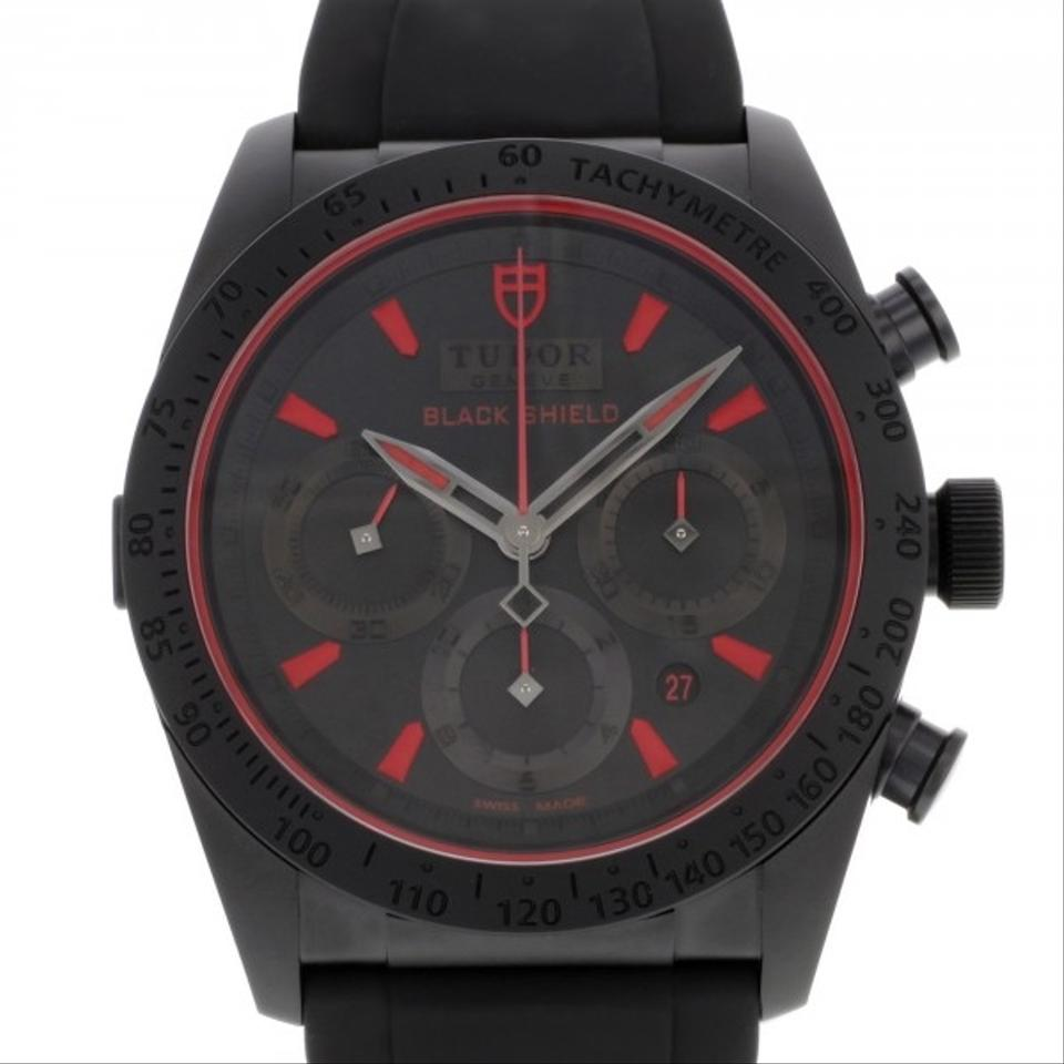 prada saffiano zip-around continental wallet - Tudor Fastrider Black Shield 42000CR Ceramic Automatic Men's Watch ...