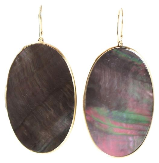 Preload https://item2.tradesy.com/images/ippolita-ippolita-18k-yellow-gold-polished-rock-candy-black-shell-large-oval-earrings-1289671-0-0.jpg?width=440&height=440