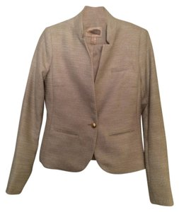 Forever 21 Cream, tan, metallic, gold Blazer