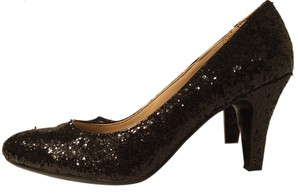 Naturalizer Walking Sparkle Black Pumps