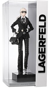Karl Lagerfeld Chanel RARE New in Box Collectible Sold Out Karl Chanel Barbie Doll