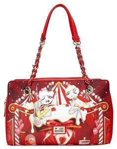 Moschino Sell Satchel in red