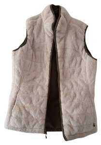 The North Face Reversible Faux Fur Vest