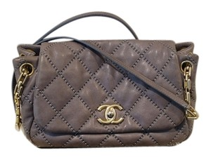 Chanel Retro Calfskin Leather Shoulder Bag