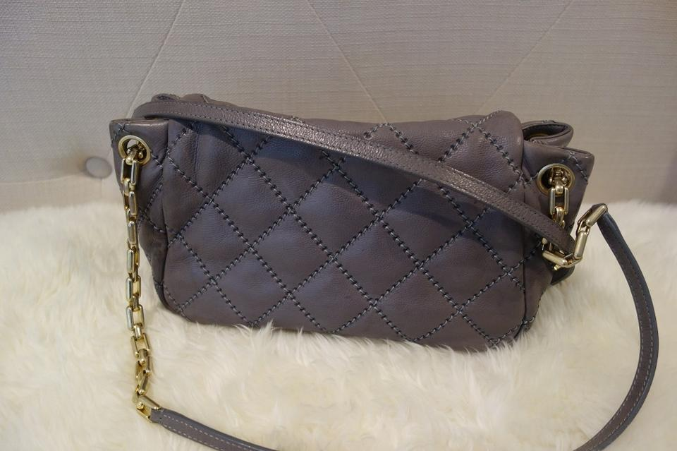 Chanel Classic Flap Quilted Leather Retro Chain Accordion Gray Calfskin  Shoulder Bag - Tradesy 98a1d97a7996e
