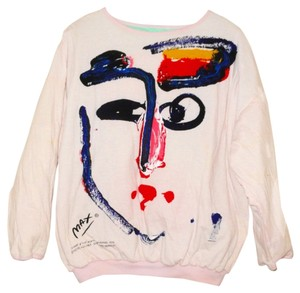 Peter Max Pop Art Vintage 1980s Sweatshirt