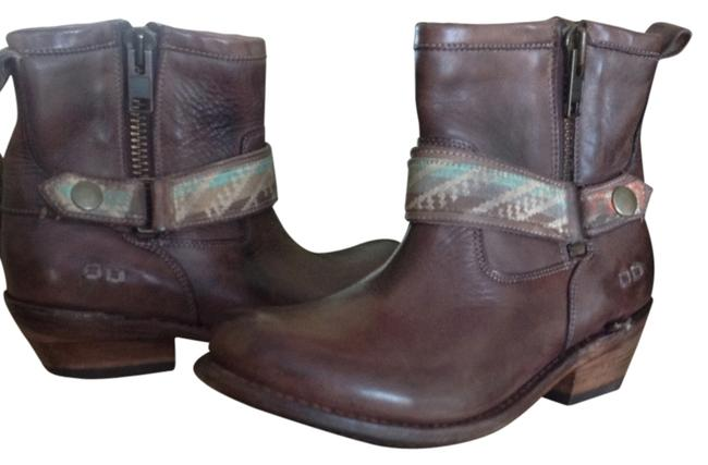 Bed|Stü Teak Rustic Triple Boots/Booties Size US 7 Regular (M, B) Bed|Stü Teak Rustic Triple Boots/Booties Size US 7 Regular (M, B) Image 1