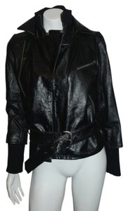 Alice + Olivia black Leather Jacket