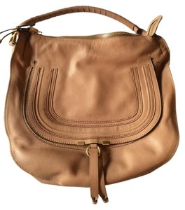 Chlo Leather Hobo Bag