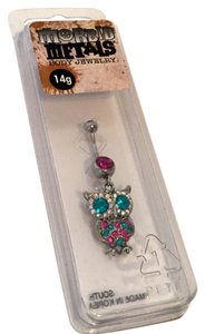 Hot Topic Owl Navel Ring 14g