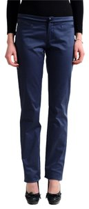 Versace Straight Pants Navy
