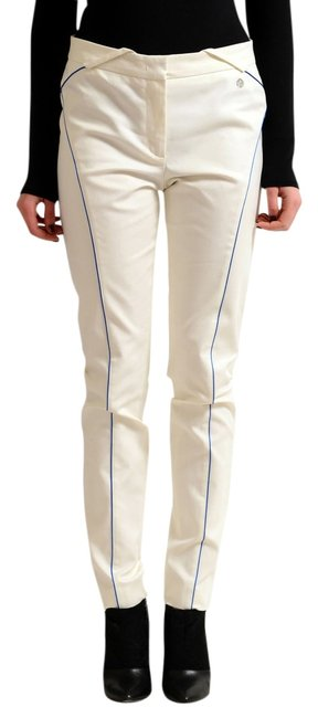 Preload https://item3.tradesy.com/images/versace-collection-off-white-women-s-casual-straight-leg-pants-size-4-s-27-12898717-0-1.jpg?width=400&height=650
