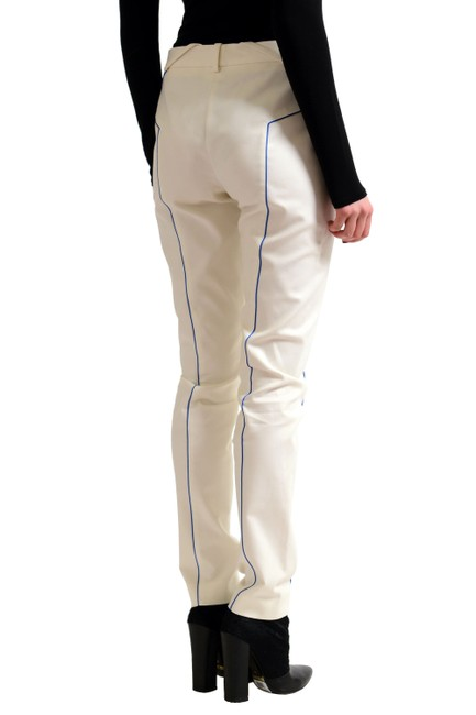Versace Collection Straight Pants Off-White