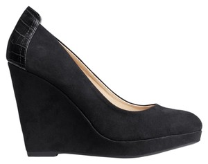 H&M On Black Wedges