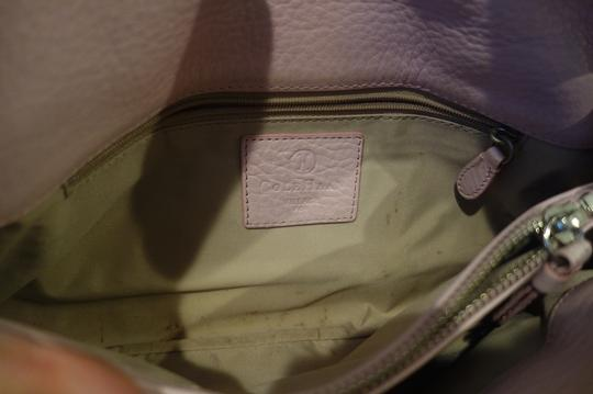 Cole Haan Pebbled Leather Front Flap Shoulder Bag