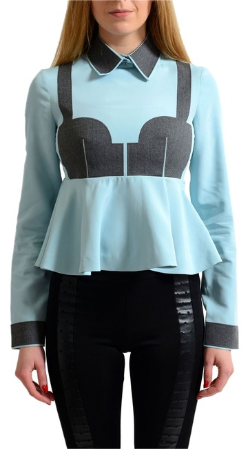 Preload https://item1.tradesy.com/images/viktor-and-rolf-multi-color-women-s-peplum-blouse-size-8-m-12898885-0-1.jpg?width=400&height=650