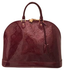 Louis Vuitton Satchel in Burgundy/Rouge Fauviste