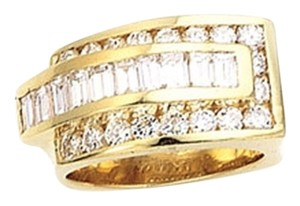 Love Culture Baguette and Brilliand Diamond Ring