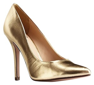Charlotte Russe Gold Pumps