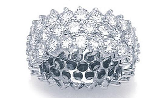 Ella Bridals Tree Row Diamond Eternity Band