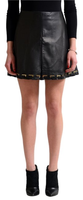 Preload https://item1.tradesy.com/images/just-cavalli-black-women-s-leather-a-line-miniskirt-size-4-s-27-12899815-0-1.jpg?width=400&height=650