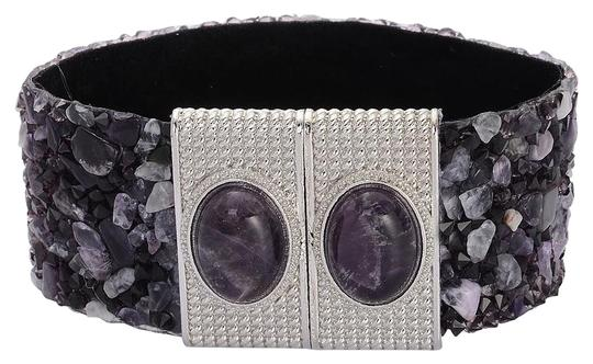 Preload https://item3.tradesy.com/images/silver-purple-amethyst-austrian-crystal-with-magnetic-closure-bracelet-12899827-0-4.jpg?width=440&height=440