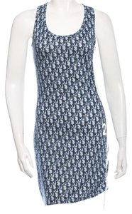 Dior short dress Blue, White Blue Multicolor on Tradesy