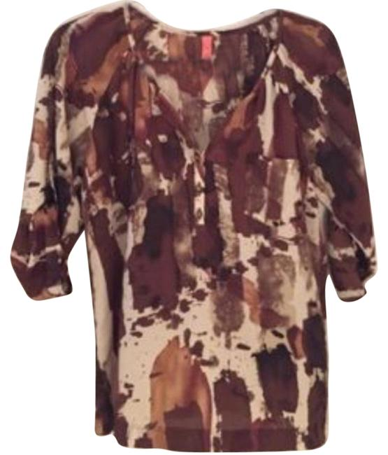 Preload https://item1.tradesy.com/images/eight-sixty-various-shades-of-brown-blouse-size-8-m-1290000-0-5.jpg?width=400&height=650