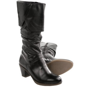 Ara Soft Midcalf Midi Boot Black Boots
