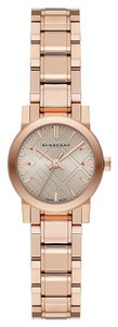 Burberry Burberry The City Champagne Dial Gold-tone Ladies Watch 26mm BU9227