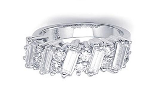 Diamond Bahuette Unique Diamond Baguette Ring