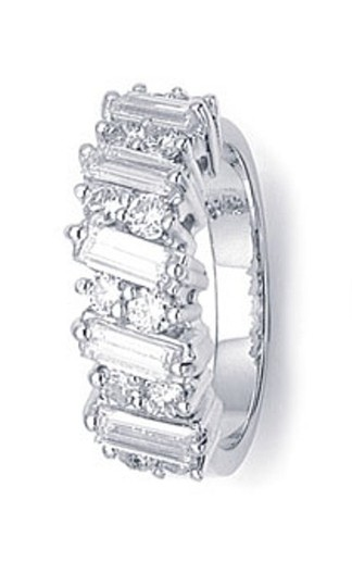 Ella Bridals Unique Diamond Baguette Ring