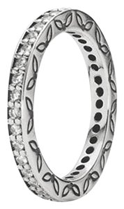 PANDORA Sterling Silver and Cubic Zirconia Eternity Ring 190618CZ