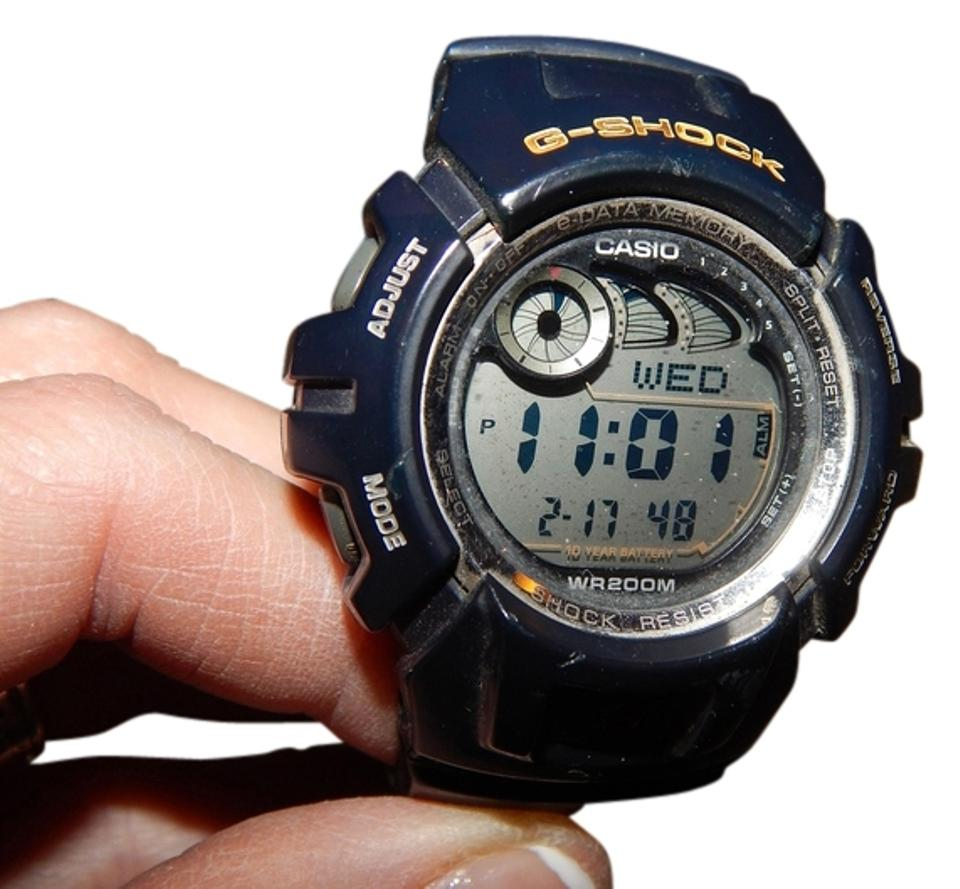 low priced 8ea15 ea628 G-Shock Blue Vintage Casio G-2900 Used 2548 Band Working Collectible Mens  Water Shock Resistant Quartz Module Watch