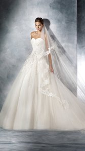 Pronovias White One Toscano Wedding Dress