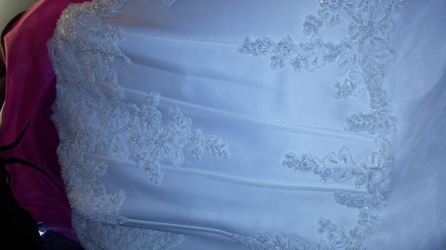 Item - White Polyester Nylon 9v9263 Vintage Wedding Dress Size 22 (Plus 2x)